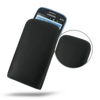 Samsung Galaxy Core Duos Leather Sleeve Pouch Case PDair Premium Hadmade Genuine Leather Protective Case Sleeve Wallet