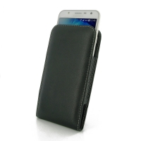 Leather Vertical Pouch Case for Samsung Galaxy J7 SM-J700F