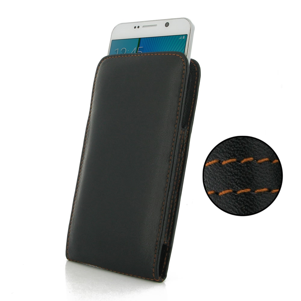 10% OFF + FREE SHIPPING, Buy Best PDair Quality Handmade Protective Samsung Galaxy Note 5 Leather Sleeve Pouch Case (Orange Stitch). You also can go to the customizer to create your own stylish leather case if looking for additional colors, patterns and t