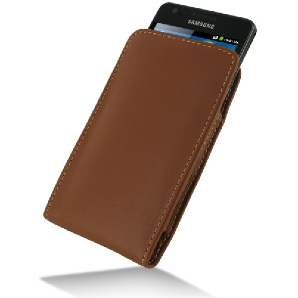 10% OFF + FREE SHIPPING, Buy Best PDair Top Quality Handmade Protective Samsung Galaxy S2 Leather Sleeve Pouch Case (Brown). Pouch Sleeve Holster Wallet You also can go to the customizer to create your own stylish leather case if looking for additional co