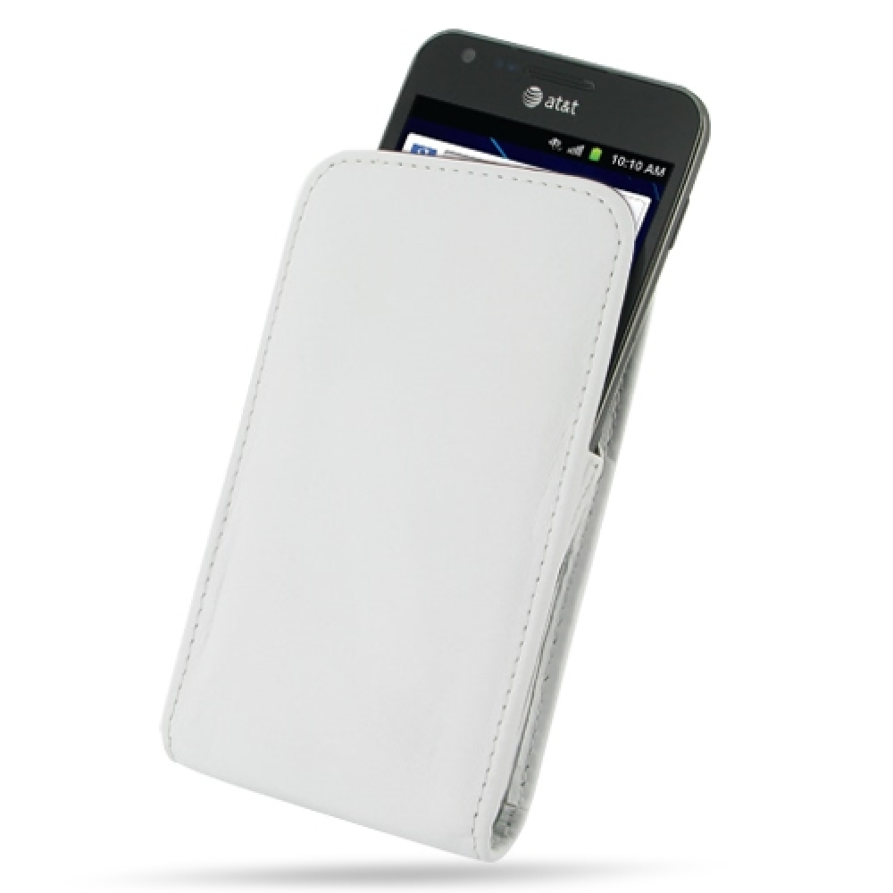 10% OFF + FREE SHIPPING, Buy Best PDair Quality Handmade Protective Samsung Galaxy S2 Skyrocket Leather Sleeve Pouch Case (White). Pouch Sleeve Holster Wallet You also can go to the customizer to create your own stylish leather case if looking for additio