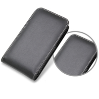 Samsung Galaxy S2 WiMAX Leather Sleeve Pouch Case (Black) PDair Premium Hadmade Genuine Leather Protective Case Sleeve Wallet
