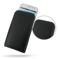 Leather Vertical Pouch Case for Samsung Galaxy Win Duos GT-i8550 GT-i8552