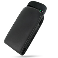 Leather Vertical Pouch Case for Samsung Google Nexus S GT-i9020T i9023 (Black)