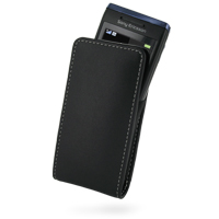 10% OFF + FREE SHIPPING, Buy PDair Top Quality Handmade Protective Sony Ericsson Aino U10 Leather Sleeve Pouch Case (Black) online. You also can go to the customizer to create your own stylish leather case if looking for additional colors, patterns and ty