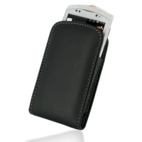 Leather Vertical Pouch Case for Sony Ericsson Live with Walkman