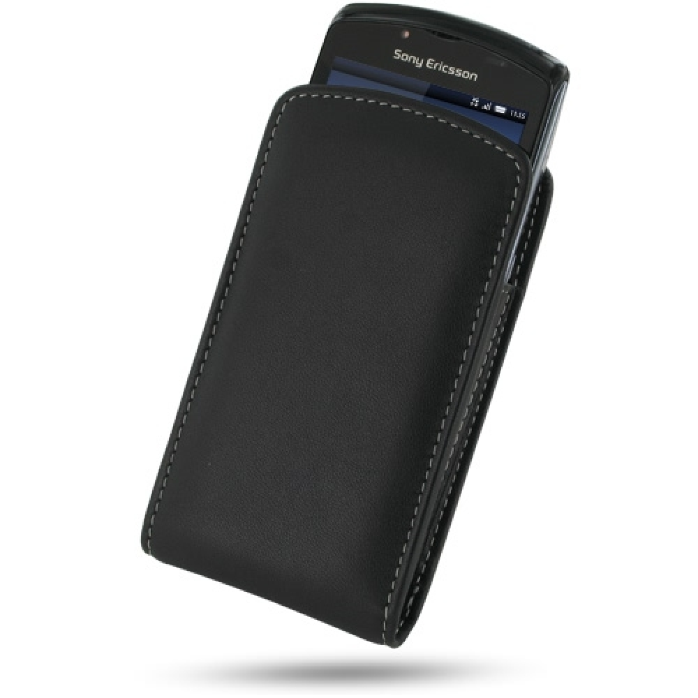 10% OFF + FREE SHIPPING, Buy PDair Top Quality Handmade Protective Sony Ericsson Xperia Play Leather Sleeve Pouch Case (Black). Pouch Sleeve Holster Wallet You also can go to the customizer to create your own stylish leather case if looking for additional