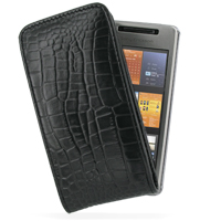 10% OFF + FREE SHIPPING, Buy PDair Quality Handmade Protective Sony Ericsson XPERIA X1 Leather Sleeve Pouch Case (Black Croc Pattern). You also can go to the customizer to create your own stylish leather case if looking for additional colors, patterns and