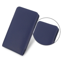 Leather Vertical Pouch Case for Sony Walkman NW-F880 NW-F885 NW-F886 NW-F887 (Purple)