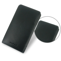 Sony Xperia C Leather Sleeve Pouch Case PDair Premium Hadmade Genuine Leather Protective Case Sleeve Wallet