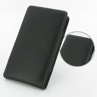 Sony Xperia Ion Leather Sleeve Pouch Case PDair Premium Hadmade Genuine Leather Protective Case Sleeve Wallet