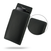 10% OFF + FREE SHIPPING, Buy Best PDair Top Quality Handmade Protective Sony Xperia Miro Leather Sleeve Pouch Case (Black). Pouch Sleeve Holster Wallet You also can go to the customizer to create your own stylish leather case if looking for additional col