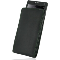 10% OFF + FREE SHIPPING, Buy PDair Top Quality Handmade Protective Sony Xperia S Leather Sleeve Pouch Case (Green Stitch) online. Pouch Sleeve Holster Wallet You also can go to the customizer to create your own stylish leather case if looking for addition