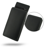 Leather Vertical Pouch Case for Sony Xperia V LT25i