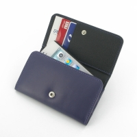 Leather Wallet Case for Apple iPhone 4 | iPhone 4s (Purple)