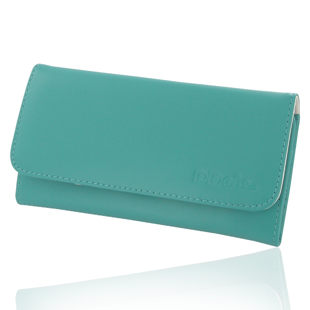 10% OFF + FREE SHIPPING, Buy Best PDair Quality Handmade Protective iPhone 6 Plus | iPhone 6s Plus Genuine Leather Wallet Case (Aqua) online. Pouch Sleeve You also can go to the customizer to create your own stylish leather case if looking for additional