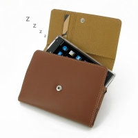 Leather Wallet Case for BlackBerry Passport (Brown)