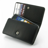 Leather Wallet Case for Samsung Galaxy S Advance GT-i9070