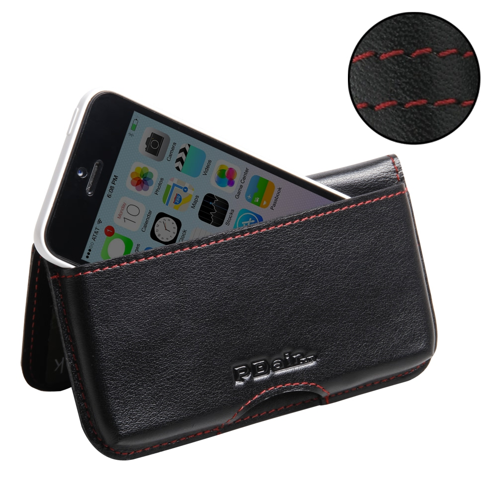 10% OFF + FREE SHIPPING, Buy Best PDair Quality Handmade Protective iPhone 5c Genuine Leather Wallet Pouch Case (Red Stitch) online. You also can go to the customizer to create your own stylish leather case if looking for additional colors, patterns and t