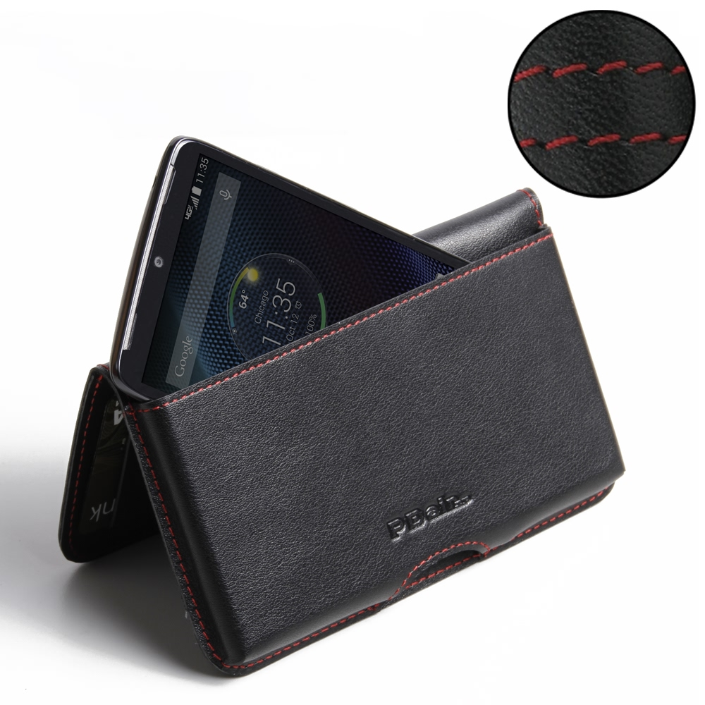 10% OFF + FREE SHIPPING, Buy PDair Top Quality Handmade Protective Motorola DROID Turbo Leather Wallet Pouch Case (Red Stitch). Pouch Sleeve Holster Wallet You also can go to the customizer to create your own stylish leather case if looking for additional