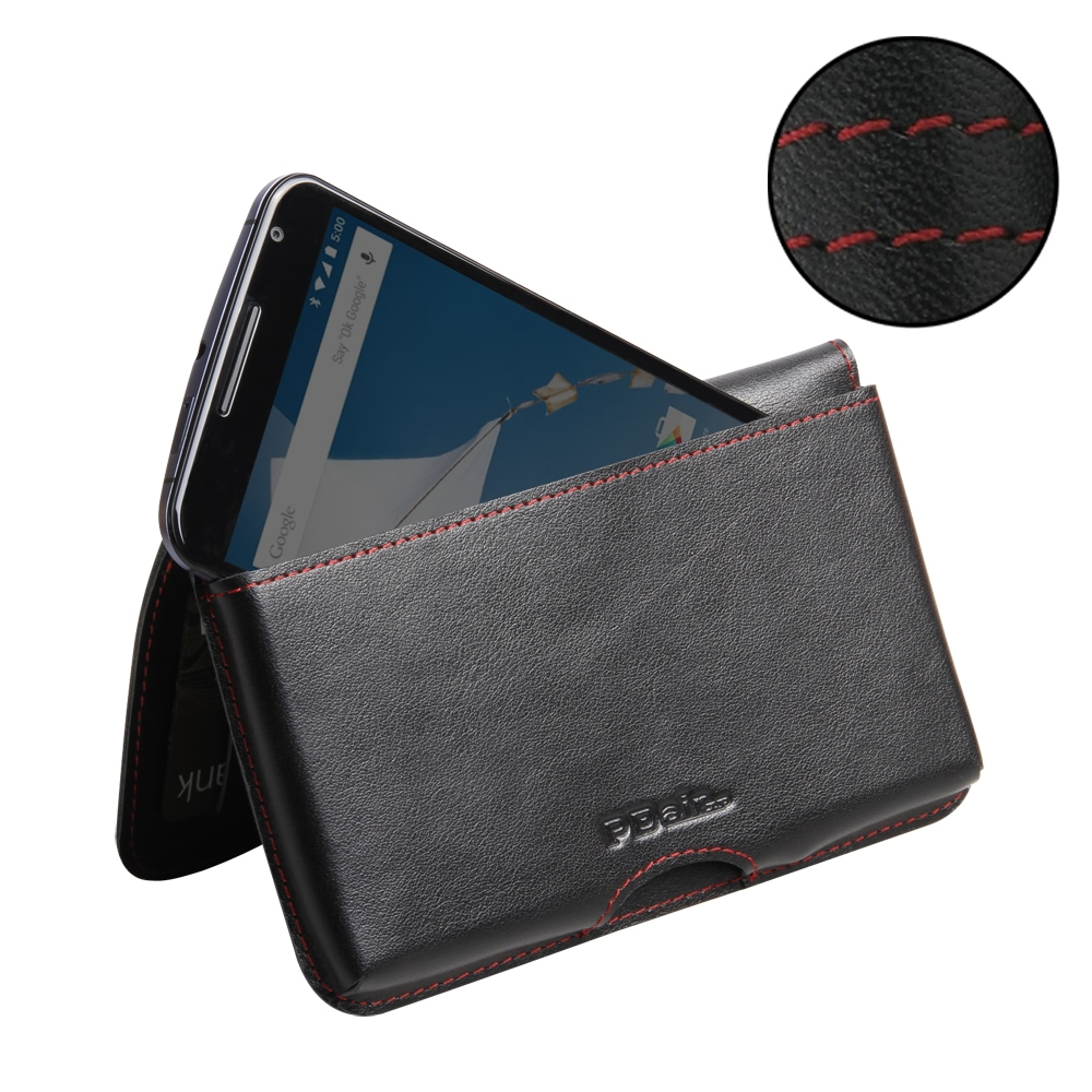 10% OFF + FREE SHIPPING, Buy Best PDair Top Quality Handmade Protective Google Nexus 6 Leather Wallet Pouch Case (Red Stitch) You also can go to the customizer to create your own stylish leather case if looking for additional colors, patterns and types.