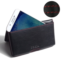 10% OFF + FREE SHIPPING, Buy Best PDair Quality Handmade Protective Samsung Galaxy A8 Leather Wallet Pouch Case (Red Stitch). Pouch Sleeve Holster Wallet You also can go to the customizer to create your own stylish leather case if looking for additional c