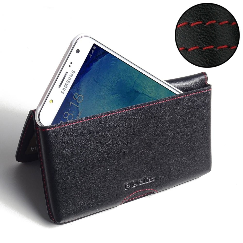 10% OFF + FREE SHIPPING, Buy PDair Top Quality Handmade Protective Samsung Galaxy J7 Leather Wallet Pouch Case (Red Stitch) online. You also can go to the customizer to create your own stylish leather case if looking for additional colors, patterns and ty