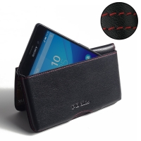 10% OFF + FREE SHIPPING, Buy PDair Top Quality Handmade Protective Sony Xperia M4 Aqua Leather Wallet Pouch Case (Red Stitch). Pouch Sleeve Holster Wallet You also can go to the customizer to create your own stylish leather case if looking for additional