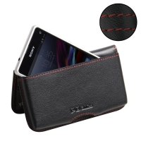 10% OFF + FREE SHIPPING, Buy Best PDair Quality Handmade Protective Sony Xperia Z1 Compact Leather Wallet Pouch Case (Red Stitch). Pouch Sleeve Holster Wallet You also can go to the customizer to create your own stylish leather case if looking for additio