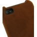 iPhone 4 4s Leather Cover (Vintage Brown) protective carrying case by PDair