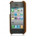 iPhone 4 4s Leather Cover (Vintage Brown) offers worldwide free shipping by PDair