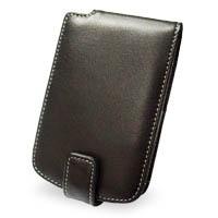 HP iPAQ hx2100 hx2400 Luxury Leather Flip Case (Black) PDair Premium Hadmade Genuine Leather Protective Case Sleeve Wallet