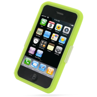 Luxury Silicone Case for Apple iPhone 3G | iPhone 3Gs (Green)