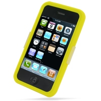 Luxury Silicone Case for Apple iPhone 3G | iPhone 3Gs (Yellow)