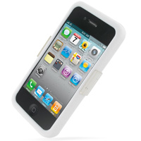 Luxury Silicone Case for Apple iPhone 4 | iPhone 4s (White)