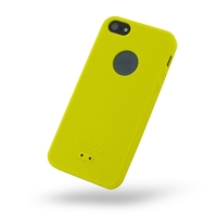 Luxury Silicone Case for Apple iPhone 5 | iPhone 5s (Yellow)