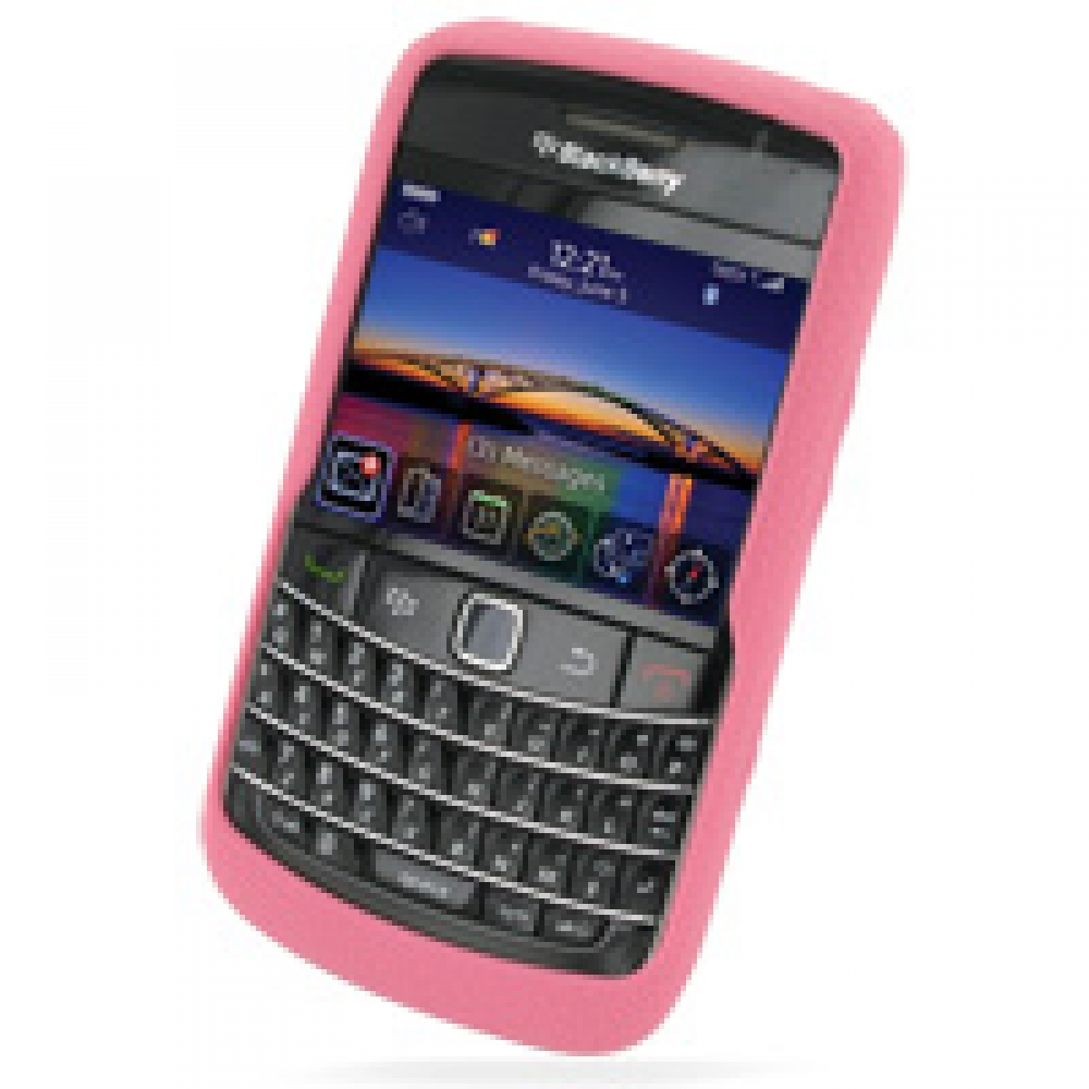 Luxury Silicone Case for BlackBerry Bold 9780 (Pink)
