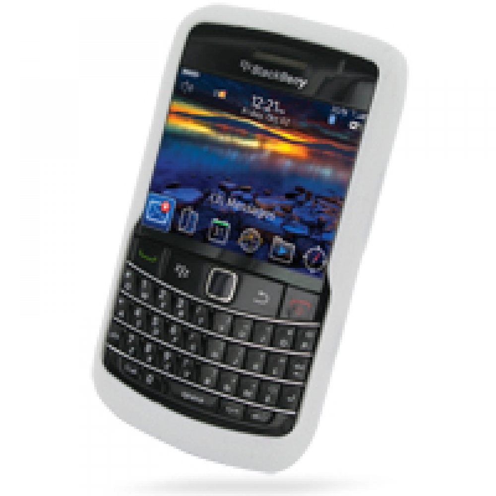 blackberry bold 9780 luxury silicone soft case white. Black Bedroom Furniture Sets. Home Design Ideas