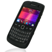Luxury Silicone Case for BlackBerry Curve 9350 9360 9370 (Black)