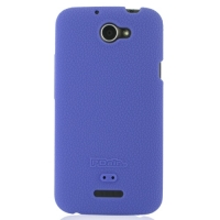 HTC One X+ Plus Luxury Silicone Soft Case (Purple) PDair Premium Hadmade Genuine Leather Protective Case Sleeve Wallet