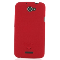 Luxury Silicone Case for HTC One X+ Plus (Red)