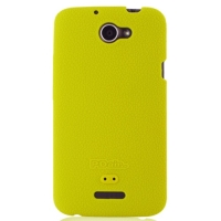 Luxury Silicone Case for HTC One X+ Plus (Yellow)