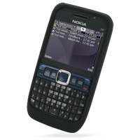 10% OFF + FREE SHIPPING, Buy Best PDair Quality Protective Nokia E63 Luxury Silicone Soft Case (Black) online. You also can go to the customizer to create your own stylish leather case if looking for additional colors, patterns and types.