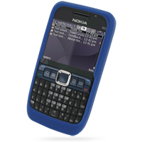 10% OFF + FREE SHIPPING, Buy Best PDair Quality Protective Nokia E63 Luxury Silicone Soft Case (Blue) online. You also can go to the customizer to create your own stylish leather case if looking for additional colors, patterns and types.