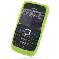 10% OFF + FREE SHIPPING, Buy Best PDair Quality Protective Nokia E63 Luxury Silicone Soft Case (Green) online. You also can go to the customizer to create your own stylish leather case if looking for additional colors, patterns and types.