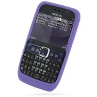 10% OFF + FREE SHIPPING, Buy Best PDair Quality Protective Nokia E63 Luxury Silicone Soft Case (Purple) online. You also can go to the customizer to create your own stylish leather case if looking for additional colors, patterns and types.