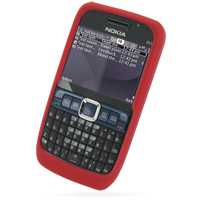 10% OFF + FREE SHIPPING, Buy Best PDair Quality Protective Nokia E63 Luxury Silicone Soft Case (Red) online. You also can go to the customizer to create your own stylish leather case if looking for additional colors, patterns and types.