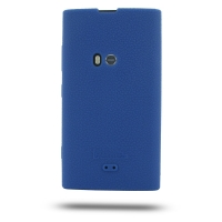 Nokia Lumia 920 Luxury Silicone Soft Case (Blue) PDair Premium Hadmade Genuine Leather Protective Case Sleeve Wallet