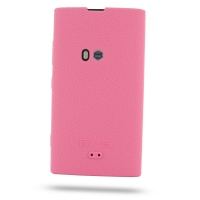 Nokia Lumia 920 Luxury Silicone Soft Case (Pink) PDair Premium Hadmade Genuine Leather Protective Case Sleeve Wallet