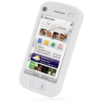 Luxury Silicone Case for Nokia N97 (White)